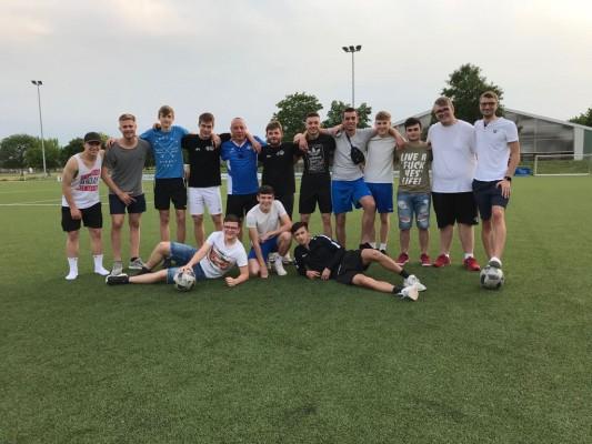 A-Jugend gewinnt letztes Rundenspiel 4:1 gegen SC Pfingstberg-Hochstätt